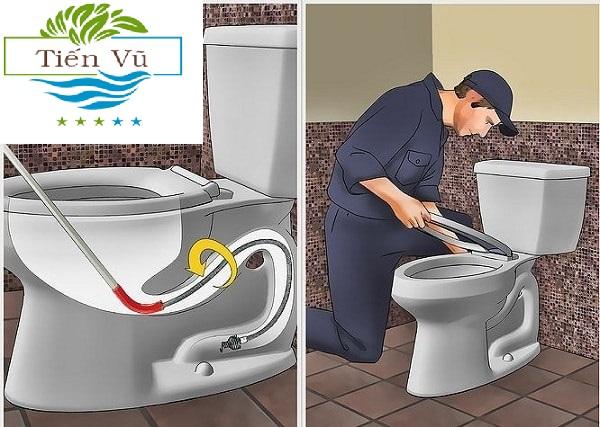 cách xử lý bồn cầu bị tràn nước