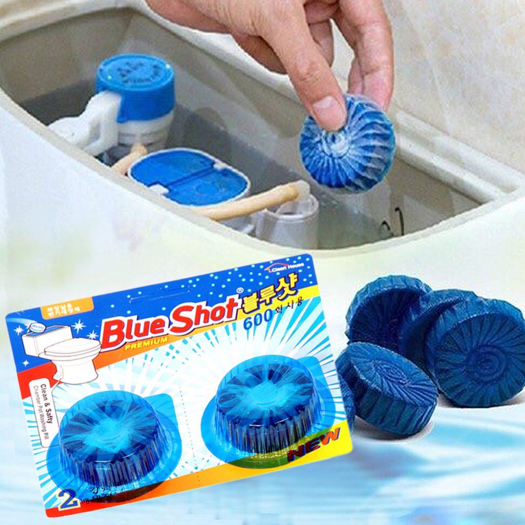 viên tẩy blue shot