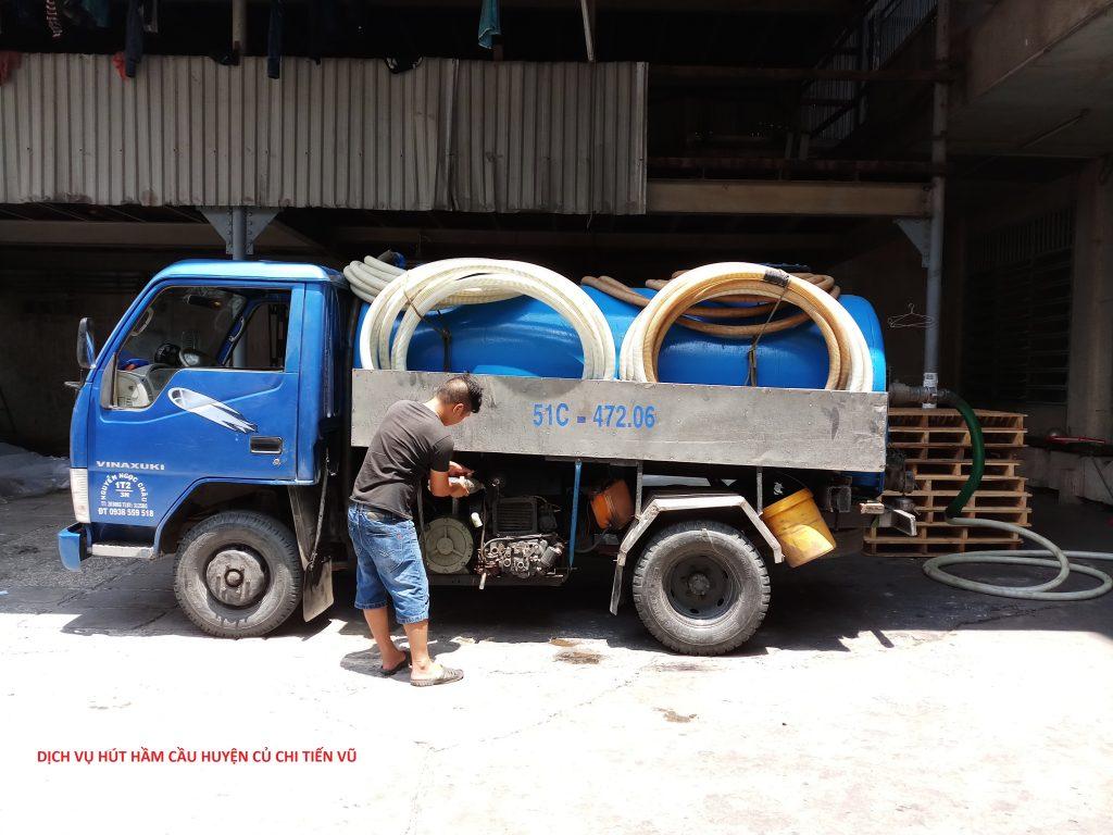 dịch vụ hút hầm cầu huyện củ chi