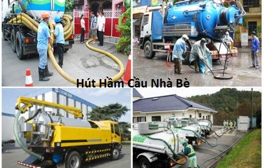 Dịch vụ hút hầm cầu huyện nhà bè